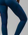 High Rise Tracking Legging, Pebble Peep - ONZIE