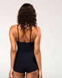 Shortie Leotard, Black - ONZIE