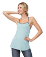 Yogatopp Breeze Support Cami, Stone Blue - Manduka