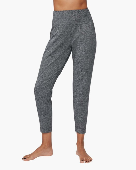 Yogabyxa Tranquility Pant, Salt And Pepper - Manduka