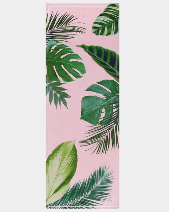 Yogamatta Grounded Factory Botanical Pink