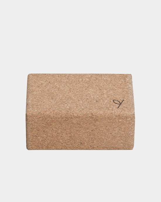 Yoga block cork, large - YOGIRAJ