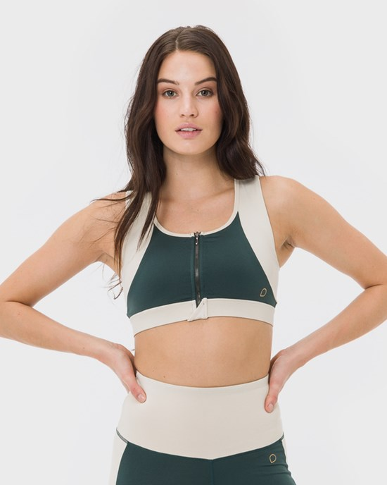 Aylin Support Bra, Racing Green - DOM