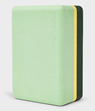 Yogablock Uphold Recycled Foam Block Green Ash - Manduka